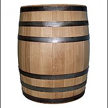 Бочка дубовая 200 литров для напитков (оцинкованный обруч), Дубовые бочки, Для напитков, Украина, 200
