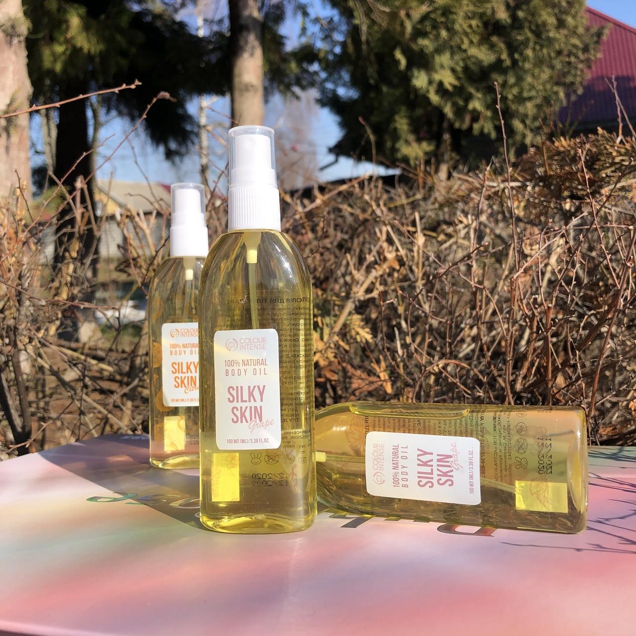 Ароматизована олійка  для тіла 100% natyral  Grape 100мл Colour Intense