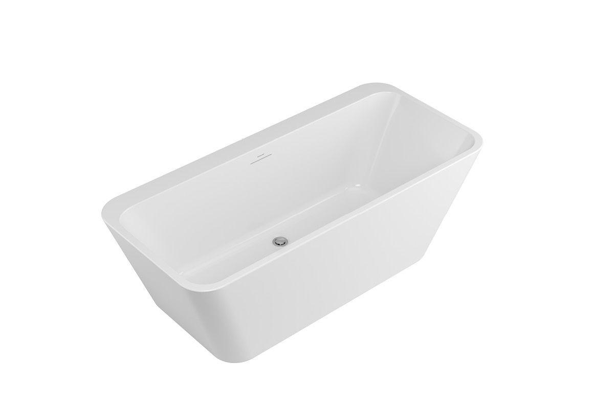 Ванна Excellent отдельностоящая пристенная Lila WAEX.LIL2.160.WHP