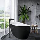 Ванна Excellent 1750х780 Comfort черно-белая отдельностоящая WAEX.CMP2.17WB, фото 2