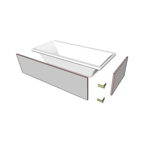 Панель для ванн прямокутн.під плитку 2000х900 OBEX.P.20X90WH