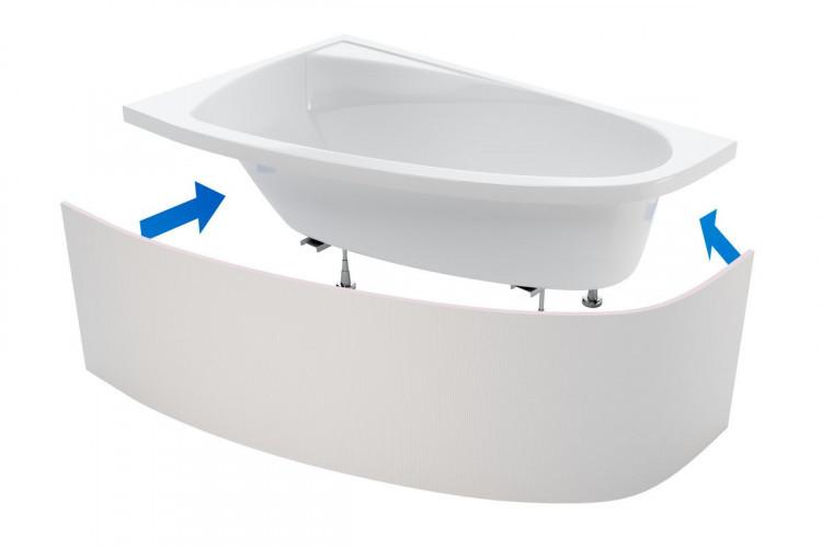 Панель для ванн кутових під плитку OBEX.N.250WH