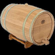 Бочка дубовая 50 л для вина, коньяка (оцинкованный обруч), Дубовые бочки, Для напитков, Украина, 50