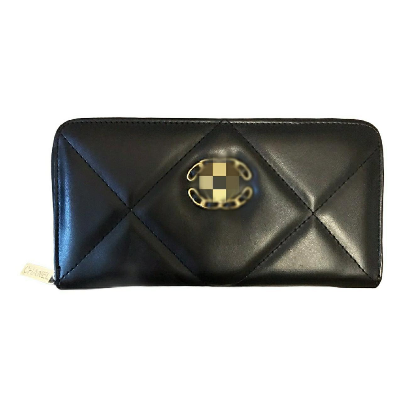 Чорний жіночий гаманець Шанель