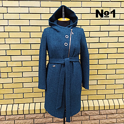 Красивое женское пальто весна осень размеры 48-56