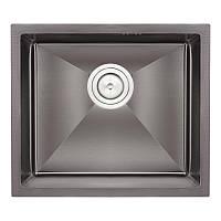 Кухонная мойка Qtap D4843BL Black 2.7/1.0 мм (QTD4843BLPVD2710)