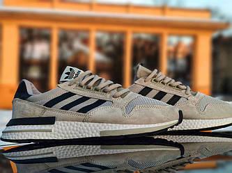 Adidas ZX 500 RM grey (Топ якість) Чоловічі кросівки 41 (26 см)