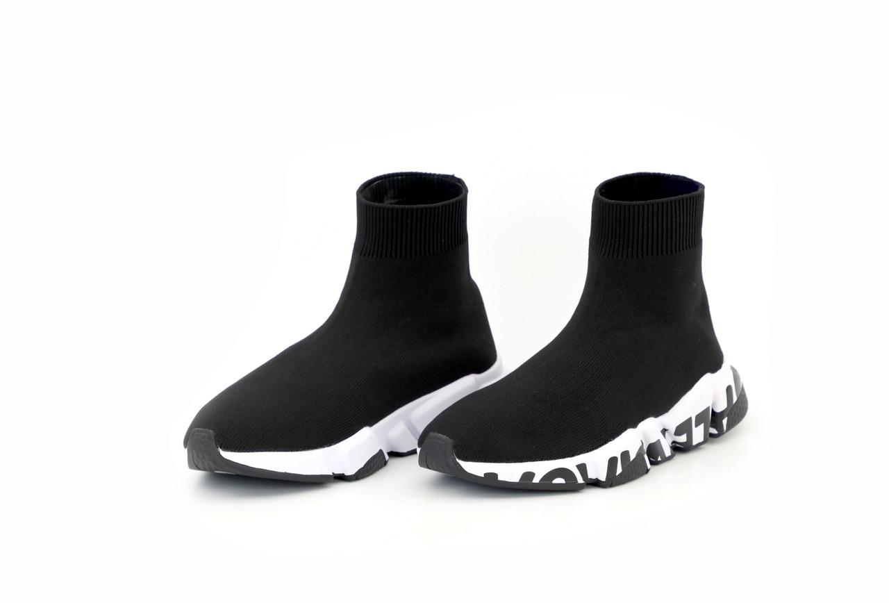 Женские черные Кроссовки Balenciaga Speed Trainers