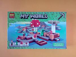 Конструктор My World Bela Острів грибів, 253 деталей