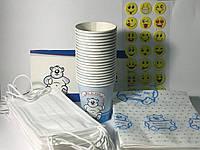 Набор для детского приема, синий/розовый (Thienel Dental), 1 упак., фото 1