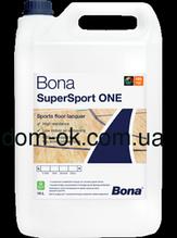 Bona SuperSport ONE Лак однокомпонентный для спортзалов  10л