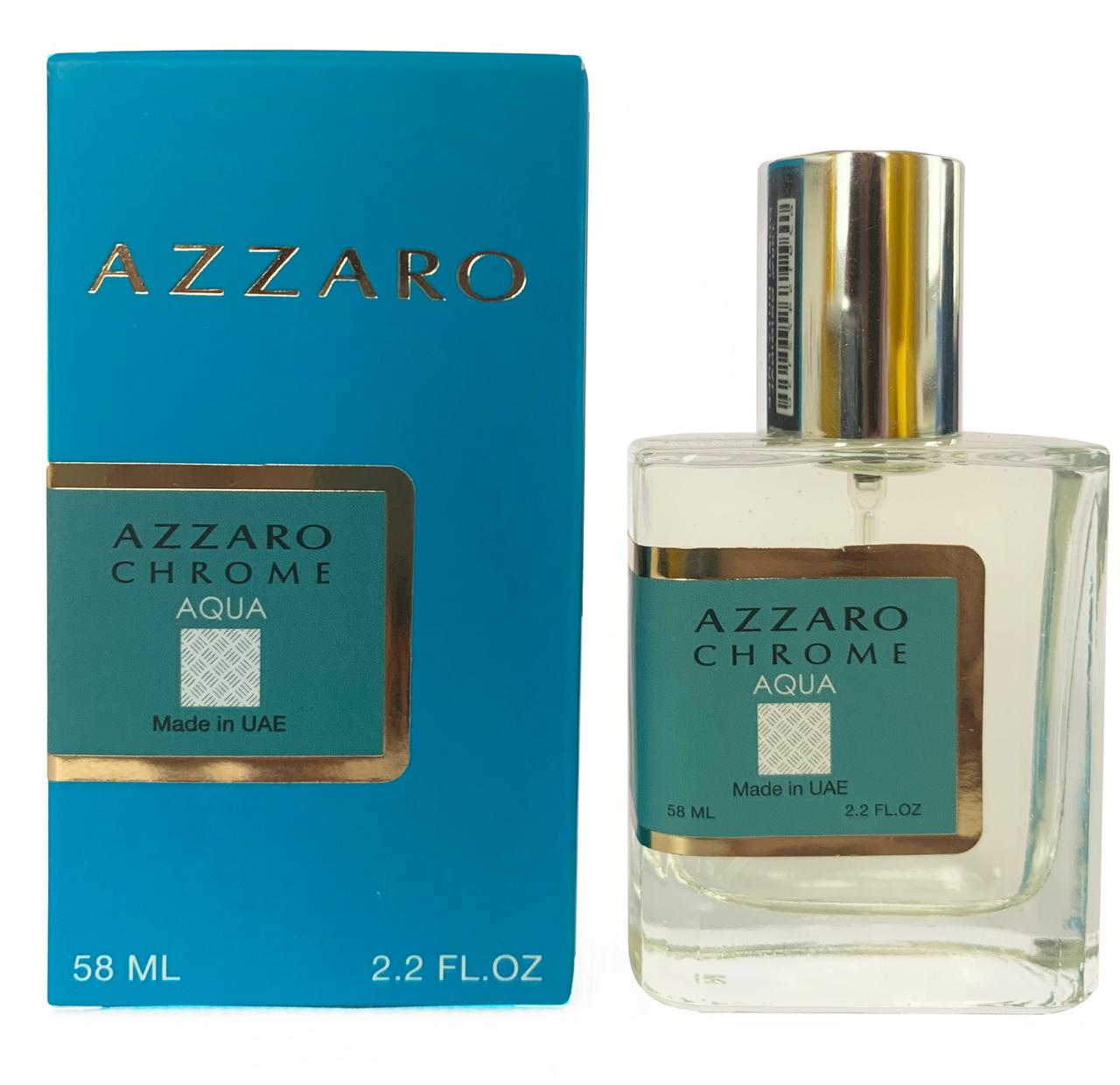 Azzaro Chrome Aqua Perfume Newly мужской, 58 мл