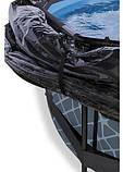 Каркасний круглий басейн Exit з куполом 360x76 камінь, Каркасні басейни, Кругла, 360x76, Нідерланди, фото 3