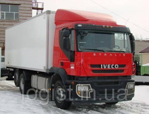 Вантажоперевезення ізотермами по Сумській області