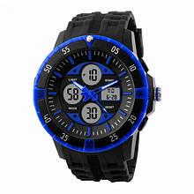 Годинник Skmei 1046 Black-Blue