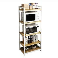 Стеллаж кухонный в стиле Лофт 1400х600х400, СТЖ17