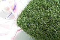 Сизаль натуральна (волокна сизалю) 100грам Колір - МОЛОЧНИЙ, фото 1