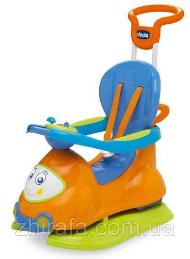 Толокар-качалка  Chicco Quattro Машина 4 в 1 Orange