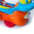 Толокар-качалка  Chicco Quattro Машина 4 в 1 Orange, фото 8