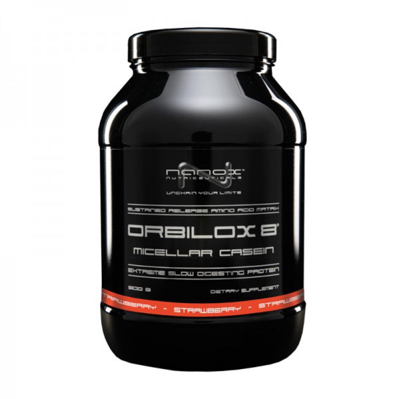 Казеїновий протеїн Nanox Orbilox 8 - 900 г