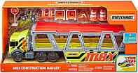 Автовоз грузовик с трактором Матчбокс Matchbox Hauler Хот Вилс Hot Wheels GNM89 оригинал