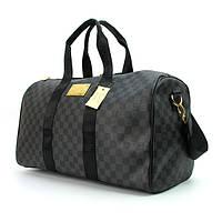 Сумка дорожная кожа PU серая Louis Vuitton 41412-1