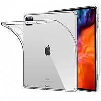 Чехол для планшета Apple Ipad Pro 12,9 (2020) Silicone Clear прозрачный силикон