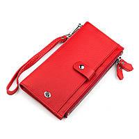 Гаманець жіночий ST Leather 18381 (ST420) багатофункціональний Червоний, Червоний, фото 1