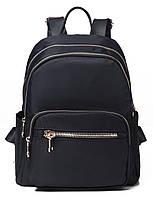 Рюкзак жіночий нейлоновий Vintage 14805 Чорний, Чорний