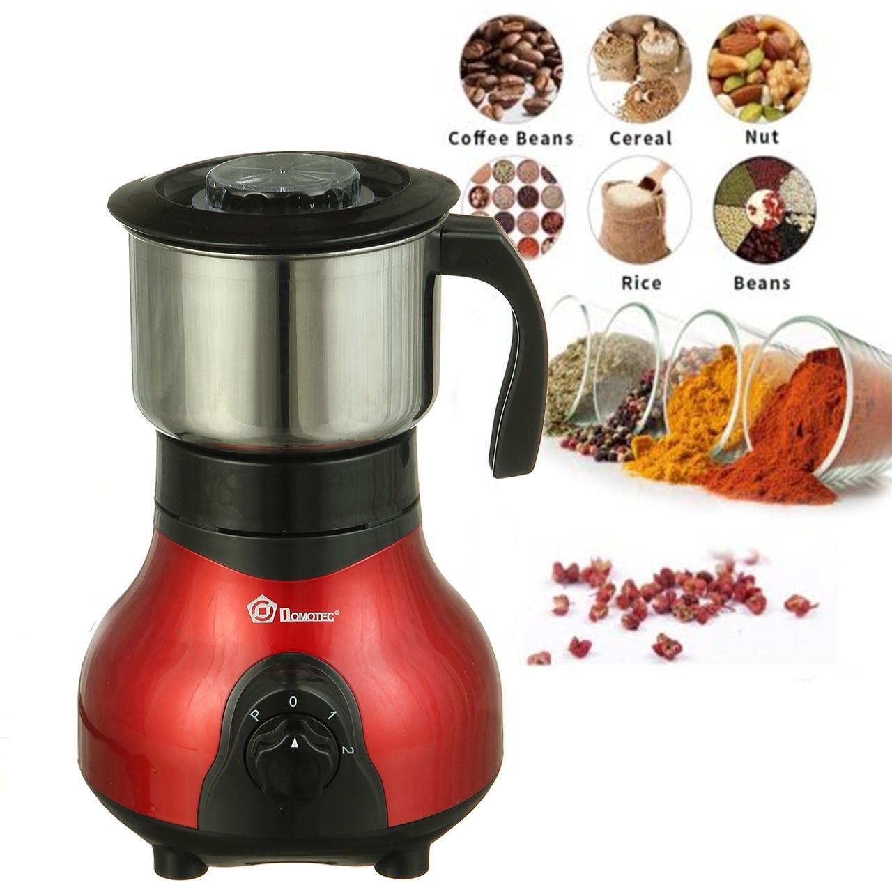 Электрическая кофемолка Domotec 500 Вт