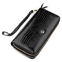 Кошелек женский ST Leather 18448 (S5001A) кожаный Черный