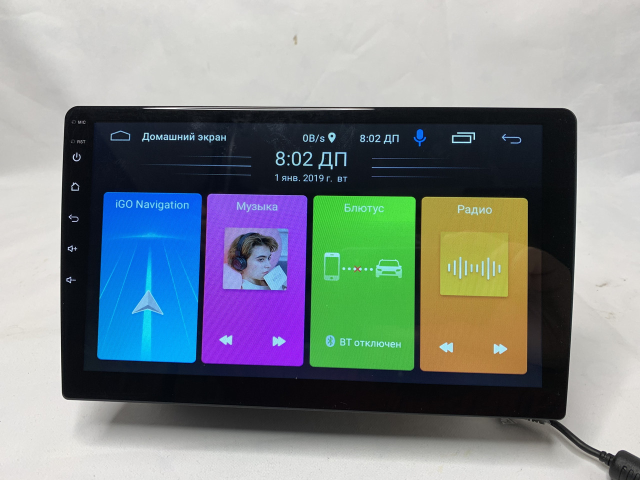 Автомагнитола 10' Pioneer 1088BT, Android, 1/16Gb, WIFI, GPS