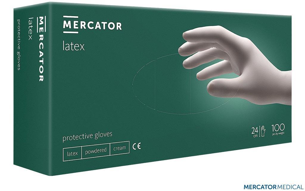 Рукавиці захисні латексні RMM-LATEX KR