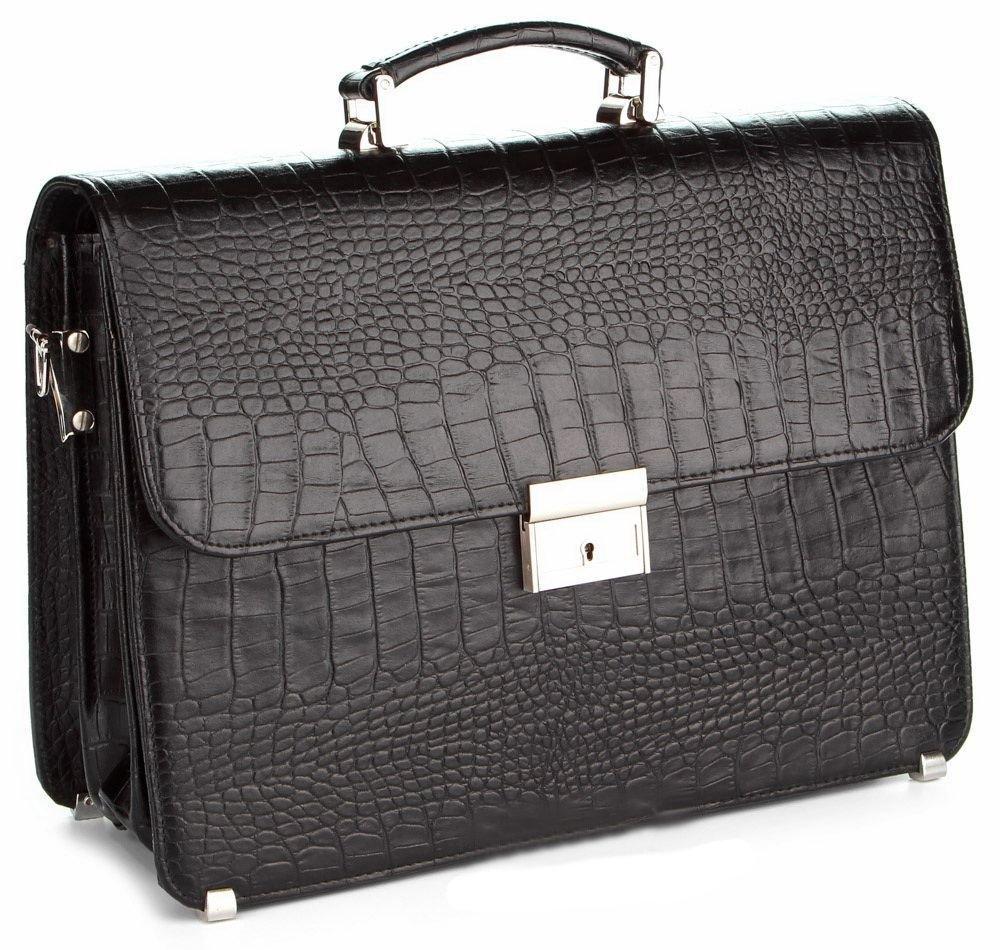 Портфель SHVIGEL 00383 Чорний