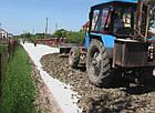 Геотекстиль Геопульс 250 г / м.кв. голкопробивний неткане полотно, фото 3