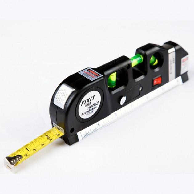 Лазерный уровень со встроенной рулеткой LASER LEVELPRO3