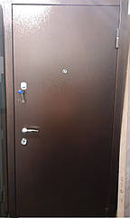 Двери бронированные. Антик - МДФ 2мм венге темный