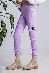 Подростковые брюки карго, джоггеры коттон, для девочек размеры 134, 152- 164