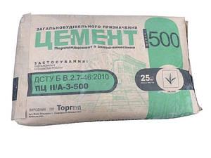 Цемент ПЦ М-500 Д20 POLIMIN (ПОЛИМИН) 25 кг