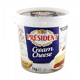 Крем сир вершковий President 60%, 1 кг
