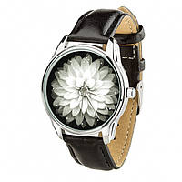 Часы Ziz Астра, ремешок насыщенно-черный, серебро и дополнительный ремешок SKL22-142648