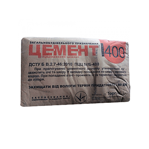Цемент 400 Д20 ПЦ Полимин (25 Кг)