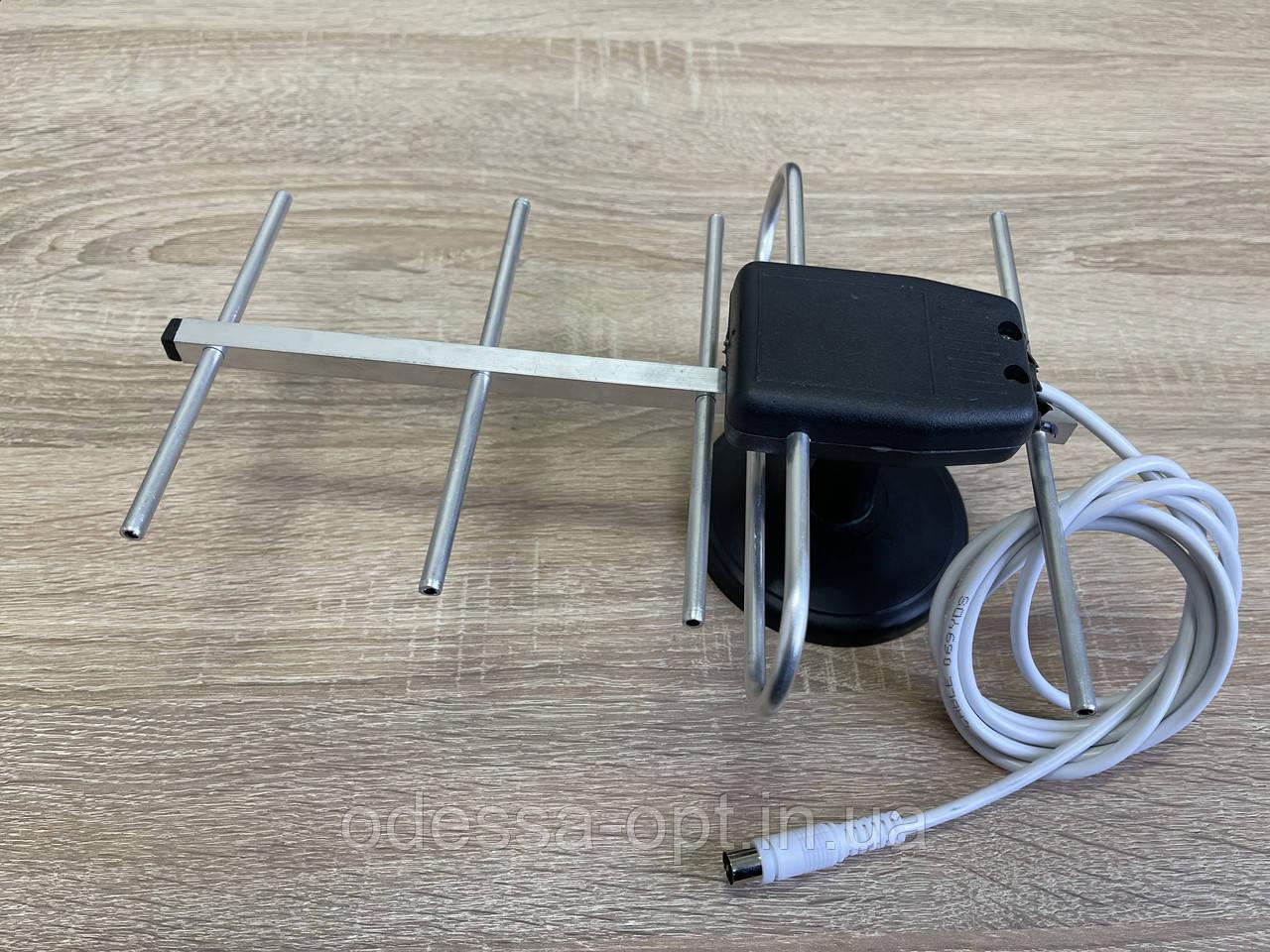 Антенна комнатная ДМВ (волна) со шнуром