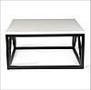 Журальний столик в стилі Лофт 900х900х450, ЖС06