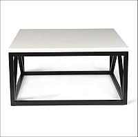 Журальний столик в стилі Лофт 900х900х450, ЖС06, фото 1