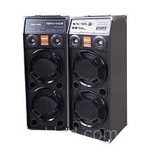 Стерео система, колонки DP-2329 BT/ 2микрофона/ (USB/Bluetooth)