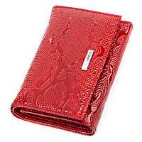 Кошелек женский KARYA 17171 кожаный Красный, фото 1