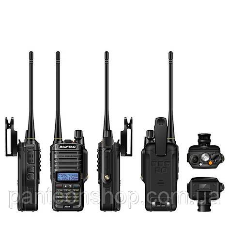 Радіостанція BAOFENG UV-9R (T-57) рівень захисту IP57 акумулятор 1800mAh, фото 2