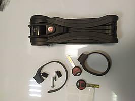 Складаний замок Trelock FS 500 Toro Folding Lock - чорний з Німеччини