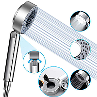 Двусторонняя душевая насадка, смеситель, лейка, распылитель для душа с 3 режимами Multifunctional Faucet